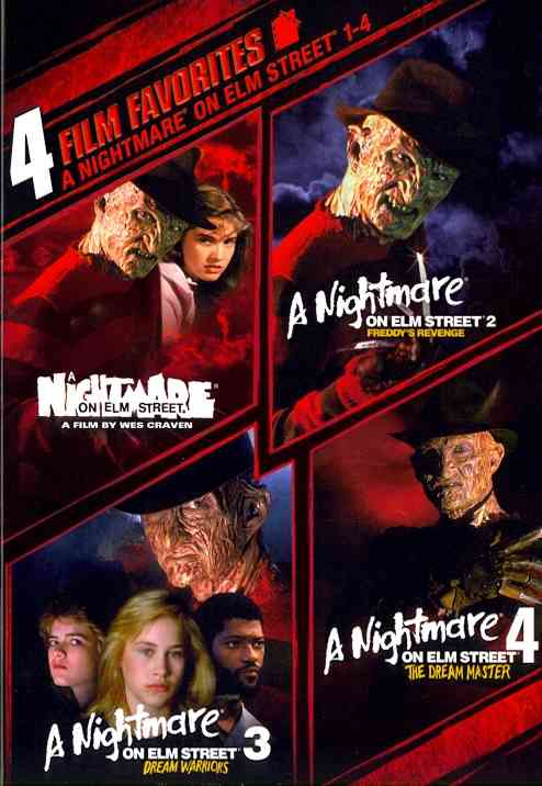 4 FILM FAVORITE:NIGHTMARE ON ELM STRE BY ENGLUND,ROBERT (DVD)